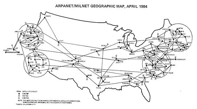 Les premiers réseaux d'ordinateurs