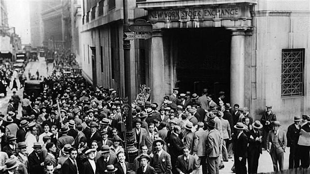 Krach du marché boursier