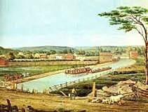 Opening of the Erie Canal