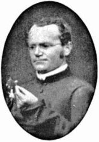 Gregor Mendel starts his studies of pea plants