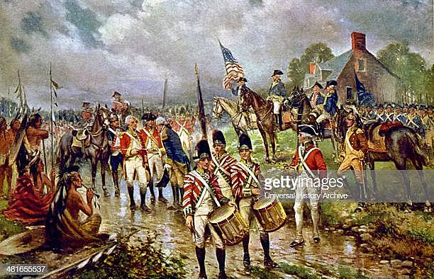 (Sept. - Oct. 1779) Battle of Saratoga