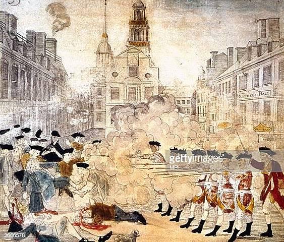 1770 - Boston Massacre