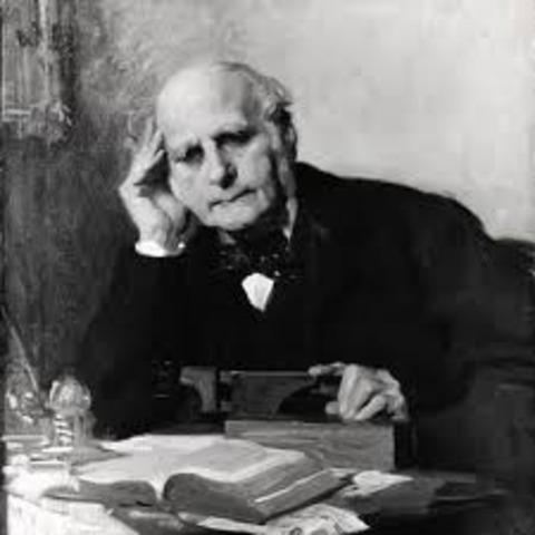 Sir Francis Galton publishes book Hereditary Genius
