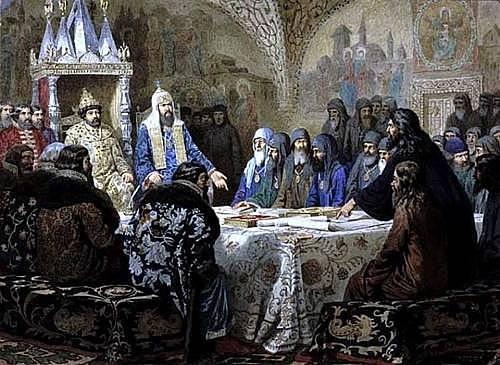 Начало церковной реформы Никона
