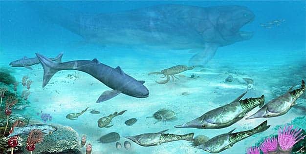 Período Devónico (Era Paleozoica)