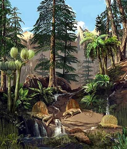 Período Pérmico (Era Paleozoica)