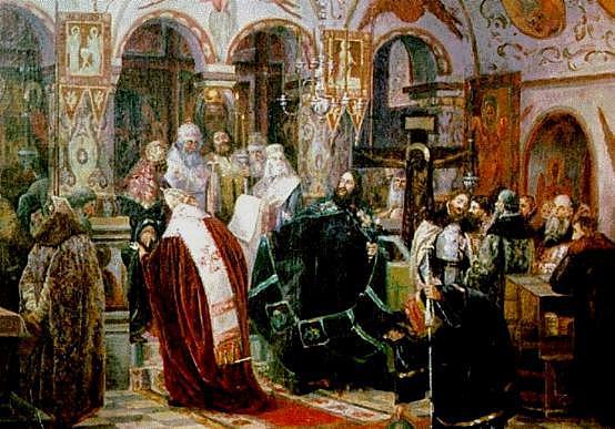 Лишение сана патриарха Никона