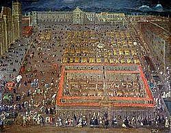Se celebra una junta en el palacio virreinal