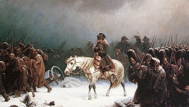 Entra Napoleón a España