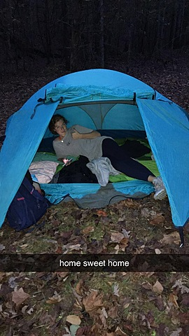 Went camping with the Outdoor Club!
