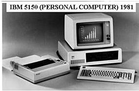 Primera computadora IBM personal