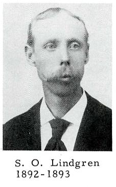 Pastor: S.O. Lindgren