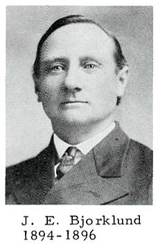 Pastor: J.E Bjorklund