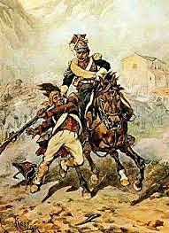 Las tropas anglo-españolas