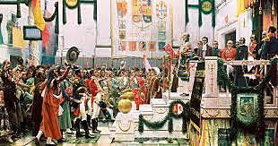 Se promulga el decreto por el cual se convoca a las Cortes.