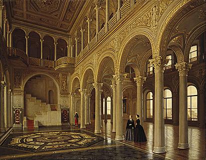 Создание Павильонного зала