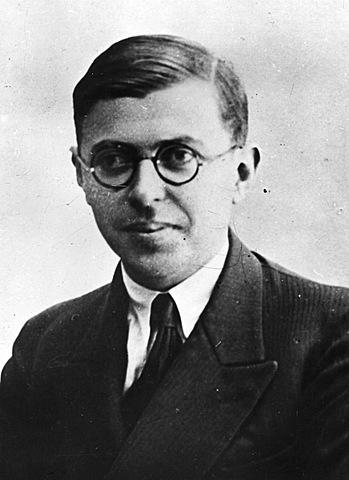 JEAN PAUL SARTRE  (1905eko ekainaren 21 – 1980ko apirilaren 15)