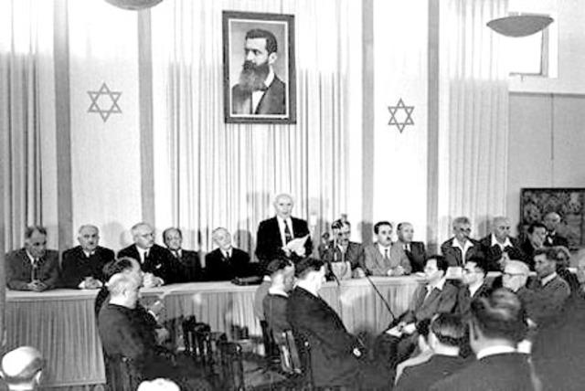 Establishment of the Nation of Israel