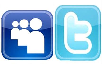 Twitter supera a MySpace en número de visitantes únicos mensuales.