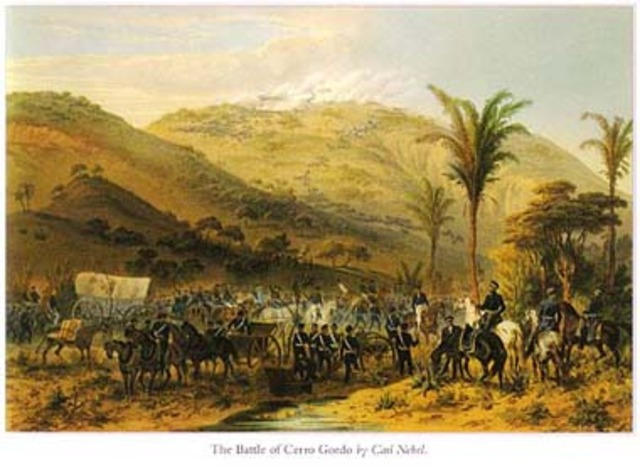 1846 US Troops Stationed at Disputed Border