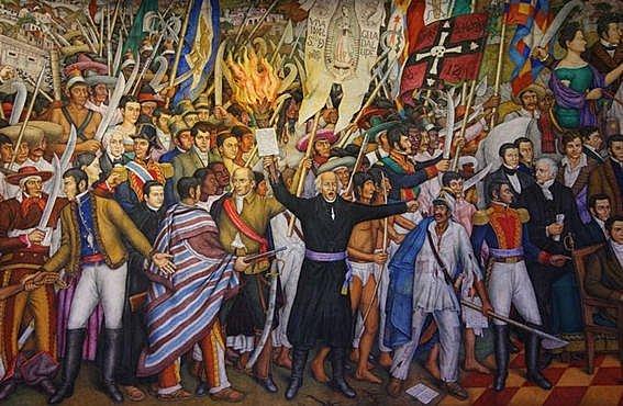 Se realiza el levantamiento armado en Dolores dirigido por Miguel Hidalgo