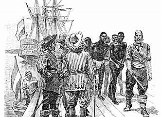 First Slaves to come to America