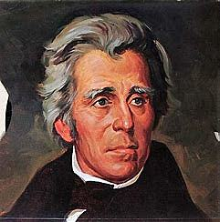 Andrew Jackson becomes the seventh President