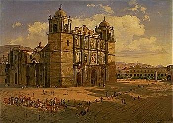 se celebra en la catedral de Oaxaca una junta