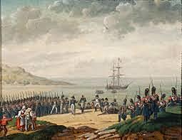 Napoleón desembarca en Cannes