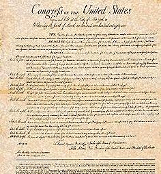 U.S. Bill of Rights ratified.