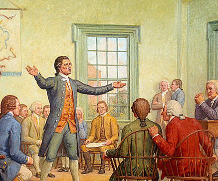 First Congress Meet in Washington