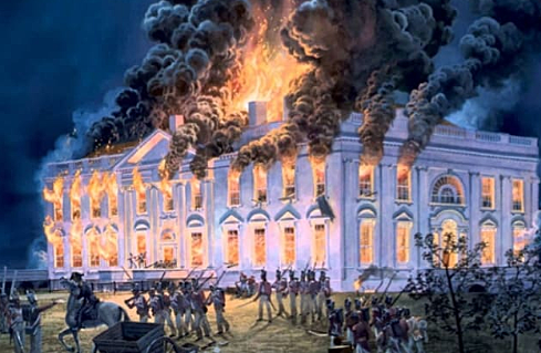 Fire Attack on White House