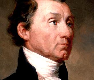 James Monroe as Fifth President