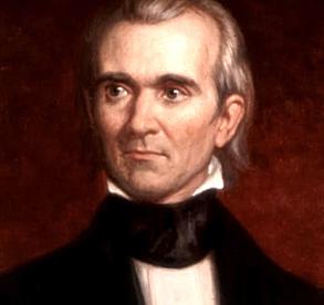 James Polk becomes 11th President