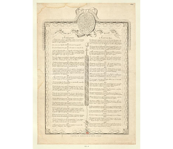 Declaration of the Rights of Man and Citizen Adopted