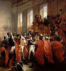Coup d'etat (of Brumaire)