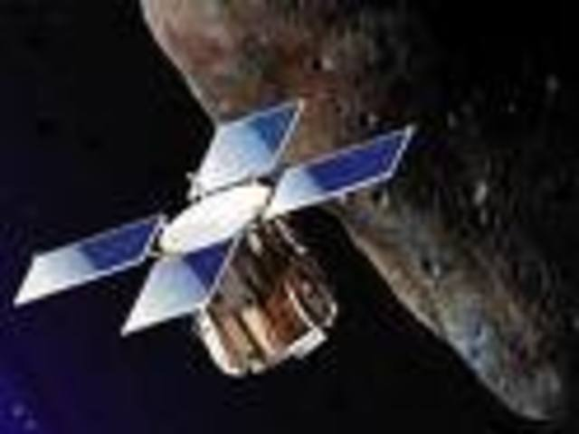 The first spacecraft to orbit an asteroid.