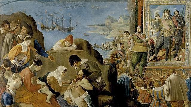 La real portuguesa desembarca a san salvador
