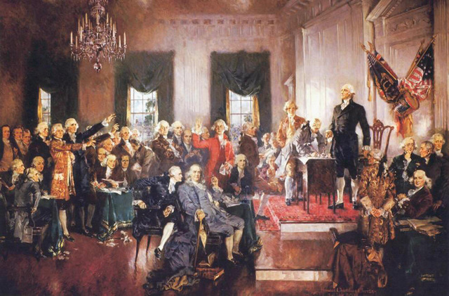 Constitutional Convention is Held