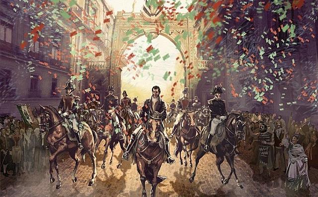 La creación del Ejército Trigarante
