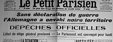 La France et la Grande-Bretagne déclare la guerre à l'Allemagne