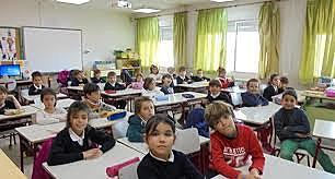 Ingreso al colegio primaria