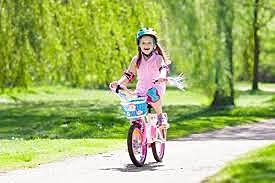 Aprendí a montar bicicleta