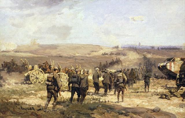 La bataille d'Amiens