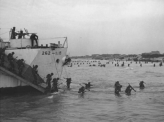 La bataille de Juno Beach