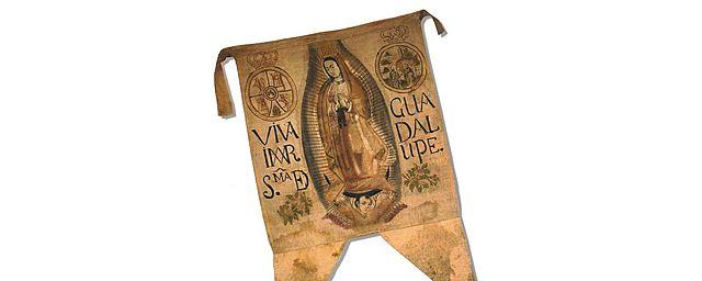 Toma del estandarte de Guadalupe como bandera insurgente