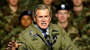 George W. Bush Declares War on Iraq