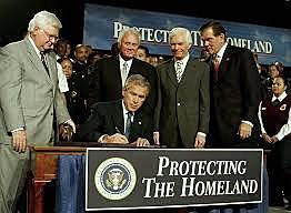 Bush expands Homeland Security