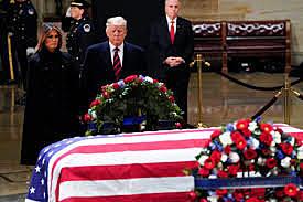 George H. W. Bush (Father) dies