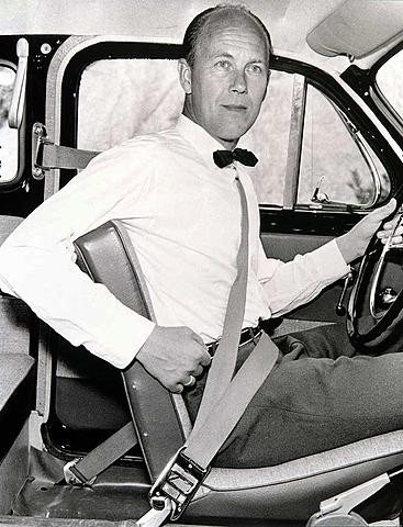 Patente para el cinturón de seguridad del vehículo - Hechos Científicos